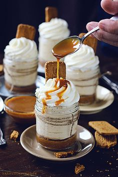 No Bake Caramel Cheesecake by windgestalt, via Flickr