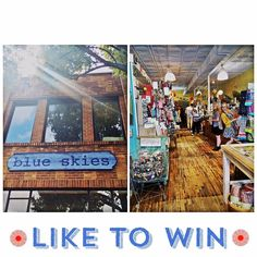 Happy Memorial Day weekend!  It's time for a blue skies GIVEAWAY! Just LIKE this post on Instagram ( #blueskieschatt ) or FB to enter to win a $25.00 gift certificate.