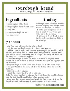 Sourdough Sandwich Bread in 10 minutes – The Herbal Homeschool Sauerteig-Sandwich-Brot in 10 Minuten – The Herbal Homeschool Sourdough Bread Starter, Sourdough Recipes, Yeast Bread, Overnight Sourdough Bread Recipe, Sourdough Bread Machine, Ciabatta Bread Recipe, Sourdough Pancakes, Bread Machine Recipes, Artisan Bread Recipes