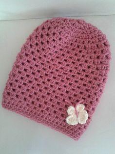 Jaqueline / Ružová čiapka pre malé slečny