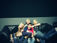 Ladies and gentlemen, now welcoming R5... What are they even doing? /:) lol