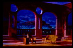 Twelfth Night. Set Design by Eric Renschler. University at Albany - SUNY.