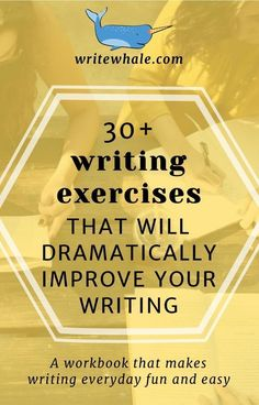 A writing workbook full of writing exercises. Learn how to come up with creative writing ideas for a novel, develop your observational skills, and make writing every day fun and easy. Writing resources writing habit learn to write write a novel