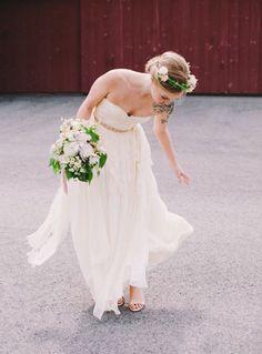Une mariée tatouée - Mlle Bride