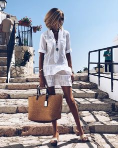 end of summer work outfits Summer Work Outfits, Spring Outfits, Summer Dresses, Outfit Summer, Summer Chic, Spring Summer Fashion, Look Fashion, Fashion Outfits, Womens Fashion