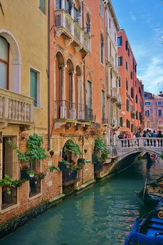 I love the colors in this picture of Venice, Italy