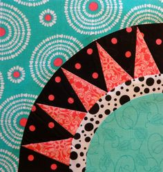Another block and a cute chart with 10 ways to cut a fat quarter!