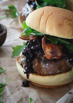 Coffee-Rubbed Cheeseburgers with Texas Barbecue Sauce | Recipe ...