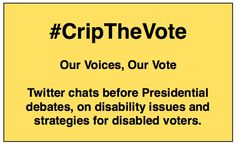 #CripTheVote: Second chat before #GOPdebate