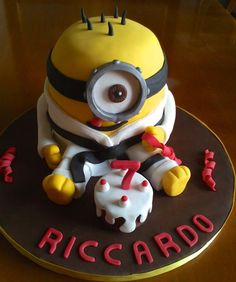 Karate Minion - Cake by Milena