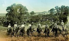 Texas Cowboys - Photo by William Henry Jackson