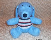 Dog Knitted Toy Pattern