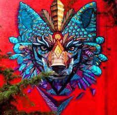 Mexicain street-artist Farid Rueda - Les œuvres de ce street-artist sont absolument MAGNIFIQUES !: