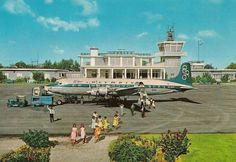 Corfu airport,1970