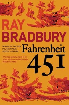 Fahrenheit 451 (Flamingo Modern Classics) by Ray Bradbury http://www.amazon.co.uk/dp/0006546064/ref=cm_sw_r_pi_dp_0rc7vb03FKWPF