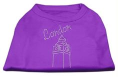 London Rhinestone Shirts Purple M (12)