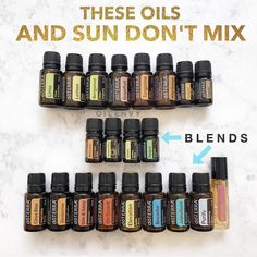 "379 Likes, 30 Comments - Kasey Shaw (@oilenvy) on Instagram: ""Have fun in the sun, but not with these oils on your skin in places exposed to sunlight. . When…"""