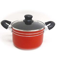 18cm Sauce Pot w Glass Lid Case of 12 ** Read more at the affiliate link Amazon.com on image.