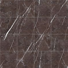 Textures Texture seamless | Graphite brown marble tile texture seamless 14229 | Textures - ARCHITECTURE - TILES INTERIOR - Marble tiles - Brown | Sketchuptexture