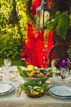 Vegetarian garden party by Hummus & Pannkaka