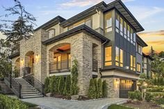 Three-Story Northwest House Plan - 23743JD | Architectural Designs - House Plans