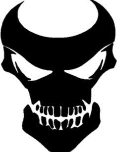 Art Optical, Optical Illusions, Small Skull Tattoo, Cool Symbols, Skull Stencil, Mask Drawing, Batman Tattoo, White Vinyl, Stencils
