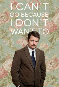 The Great Swanson has spoken.