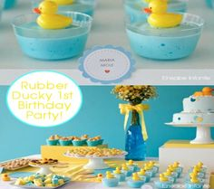 it's official, rubber duck party for rylie's 2nd birthday