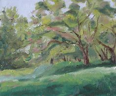 The Apple Tree by Francois Fournier Oil ~ 10 x 12