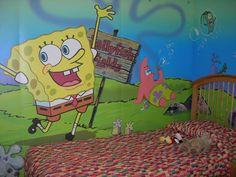 SpongeBob room decor | Room Designs Ideas  Decors