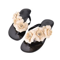 Durable Fashion shoes woman sandals Women Summer Bohemia Style Women's Sandals Flat Heel Flip Flops Beach Slippers Femal Shoes