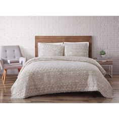 Brooklyn Loom Sand Washed Cotton Quilt Set | Overstock.com Shopping - The Best Deals on Quilts