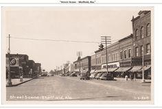 Sheffield Alabama 1940s