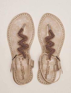 Ziggy Flat Back Strap Tan Leather Sandal Silky Pink