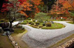 Manshu-in, Kyoto. Japanese House, Japanese Style, Japanese Art, Japanese Gardens, Japan Garden, Garden S, Garden Ideas, Kyoto, Garden Inspiration