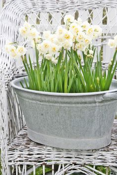 { VIBEKE DESIGN }- galvanized containers