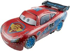 DisneyPixar Cars Ice Racers 155 Scale Diecast Vehicle Lightning McQueen *** BEST VALUE BUY on Amazon