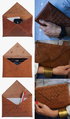 This is Ground Clavin Case - this leather envelope case is just awesome!!! It would make a nice gift too.
