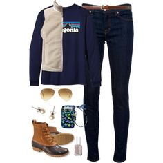 Outdoors-ish, created by classically-preppy on Polyvore