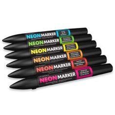 Marcador Neon Marker Letraset
