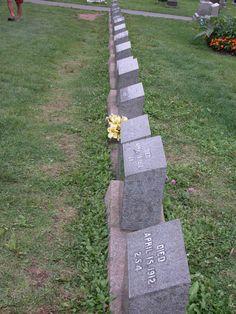 Titanic Gravestones  Halifax NS