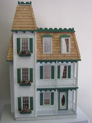 Almost the same doll house I made as a child :)