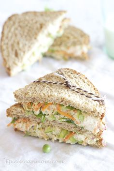 Healthy Chicken Salad Sandwich Recipe
