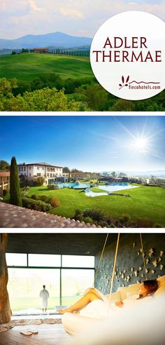 Das Adler Thermae Spa & Relax Resort ist ein luxuriöses Wellnesshotel eingebettet in der wunderschönen Landschaft der Toskana. Der perfekte Urlaubsort, um jeglichen Alltagsstress hinter sich zu lassen.