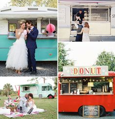 The Food Truck- They're pretty, cool and make a great decor centrepiece for a drinks reception or outside area during the afters.