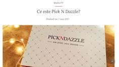 PickNDazzle!😊  http://lucaraluca.ro/2017/05/07/ce-este-pick-n-dazzle/ #pickndazzle#beauty#makeup#blogger#beautyblogger