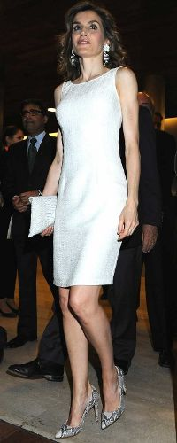 12 Jul 2016 - Queen Letizia attends 3rd edition of Spain-India Council Foundation awards. Click to read more