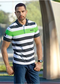 Polo tričko Slim Fit polo tričko s Slim Fit Polo, Nasa, Polo Shirt, Fitness, Mens Tops, Shirts, Style, Fashion, Swag