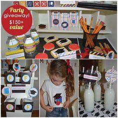 Preschool graduation party // preschool and kindergarten graduation