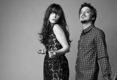 she & him. ALT INDIE RETRO (Best songs: Black Hole, In The Sun) www.missmusicscout.blogspot.com